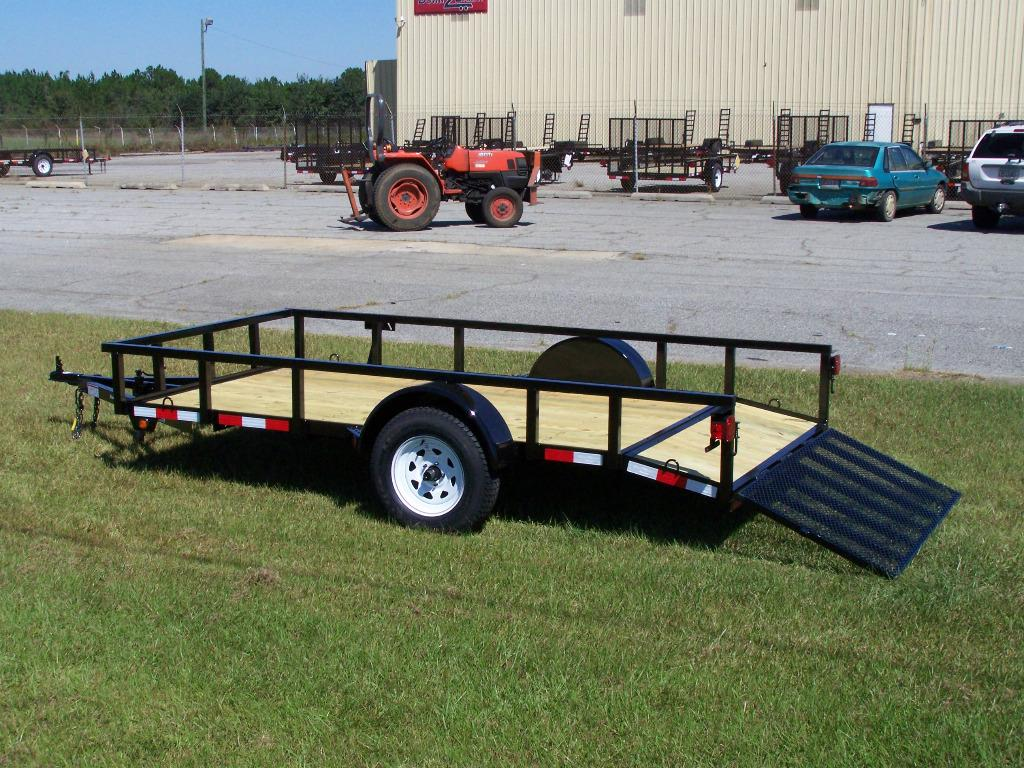 6x12dove - 2017 utility trailers 6 x 12 dove tail | Best Trailers ...
