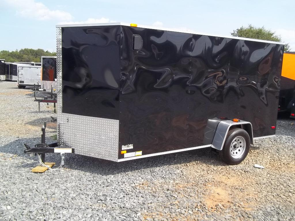 2018 Covered Wagon Enclosed 6 X 12 Silver Series 6x12econ Best
